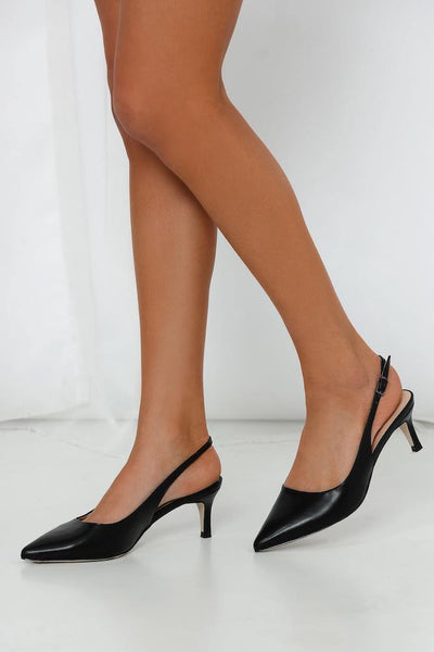 VERALI Teressa Heels Black | Hello Molly USA