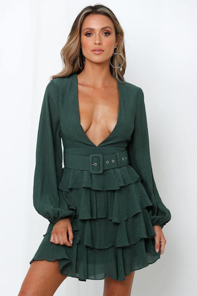 Soul Kitchen Dress Green | Hello Molly USA