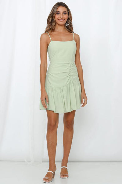 Field In Sight Dress Green | Hello Molly USA