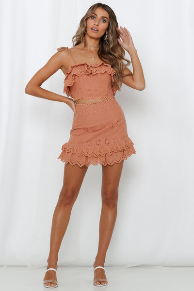 A Special Mention Skirt Tan