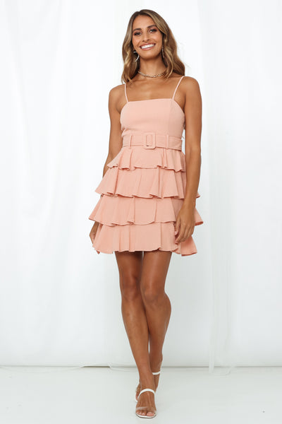 Soweto Dress Dusty Pink