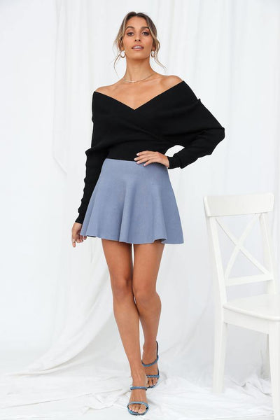Pixie Tear Drops Skirt Midnight Blue | Hello Molly USA