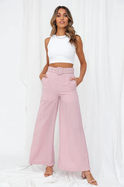 Utah Trousers Blush | Hello Molly USA