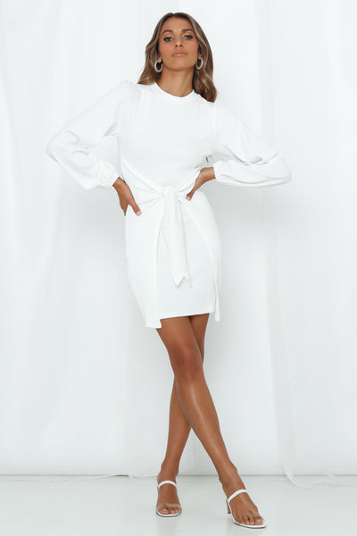Pillow Forts Dress White