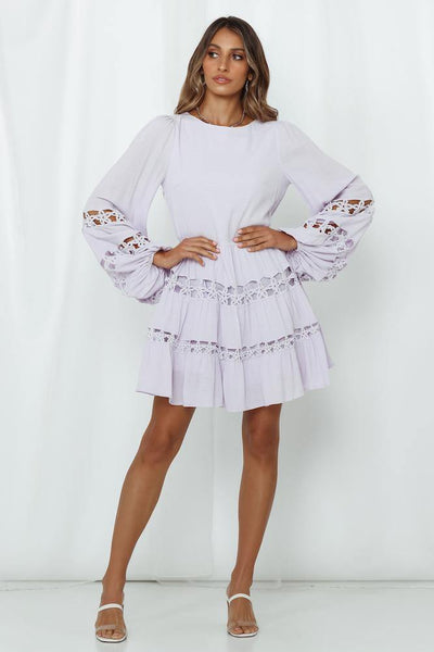 Candy Sweetness Dress Lilac | Hello Molly USA