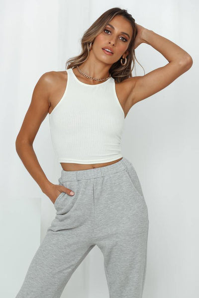 HELLO MOLLY Persian Princess Crop Top Cream | Hello Molly USA
