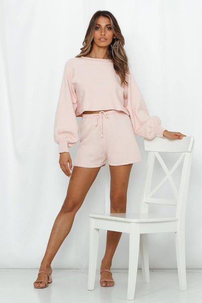 Flight Mode Shorts Baby Pink | Hello Molly USA
