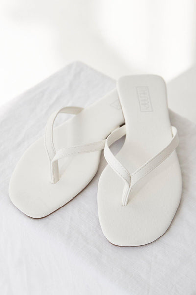 THERAPY Siena Sandals White