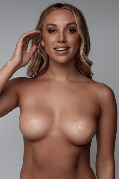 UNDERCOVER Style Helpers Sweetheart Nipple Covers Nude