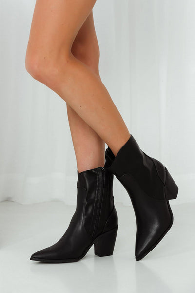 THERAPY Emmett Boots Black | Hello Molly USA