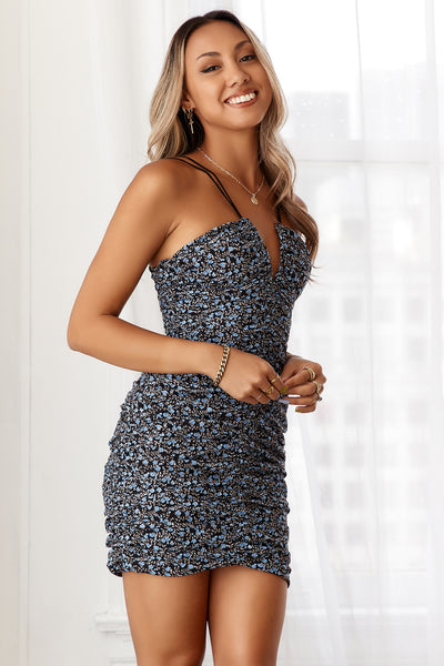 HELLO MOLLY Balance Is Key Dress Navy