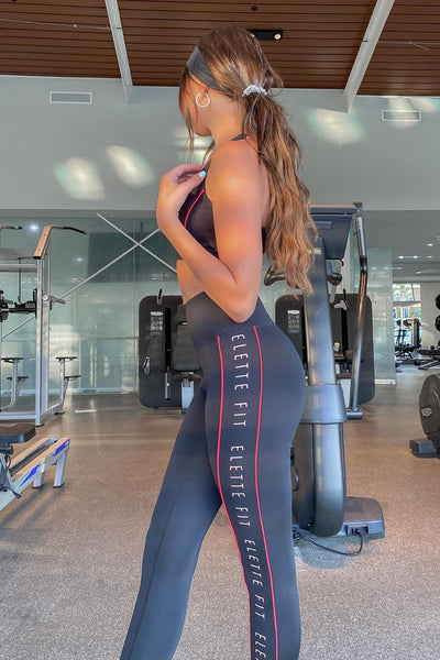 ELETTE FIT Legs Eleven Leggings Black