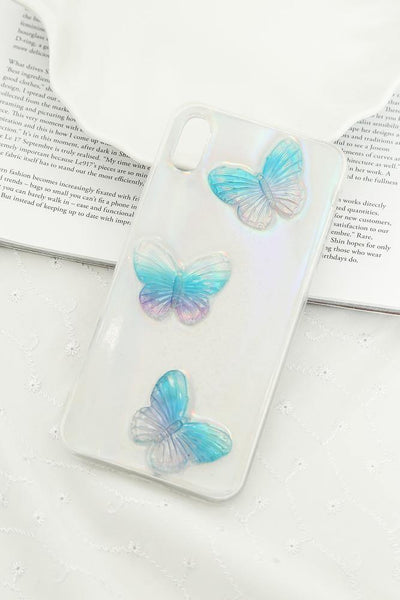 Beata Butterfly iPhone XS Max Case Holographic | Hello Molly USA