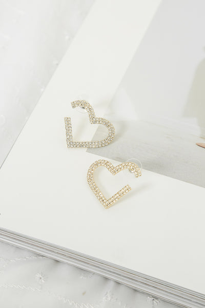 Have A Heart Earrings Gold
