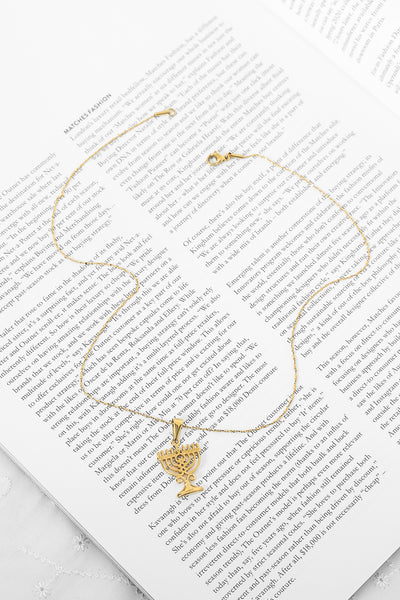 Vigil Necklace Gold