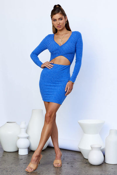 Secret Ice Rink Dress Blue | Hello Molly USA