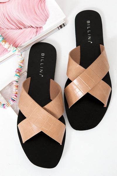 BILLINI Hale Slides Clay Croc