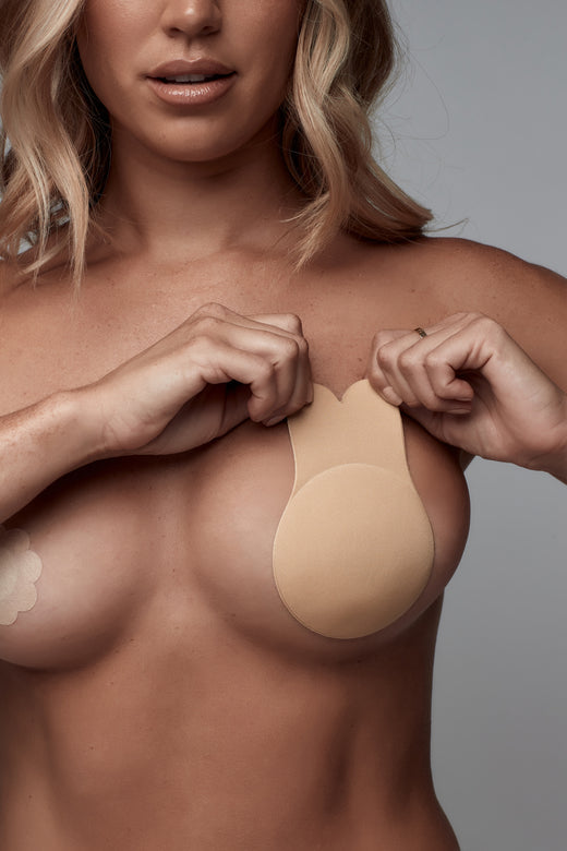 UNDERCOVER Style Helpers Be My Bunny Lift Up Nipple Covers Nude