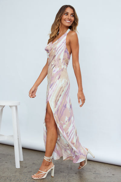 Tiara Fun Maxi Dress Purple | Hello Molly USA