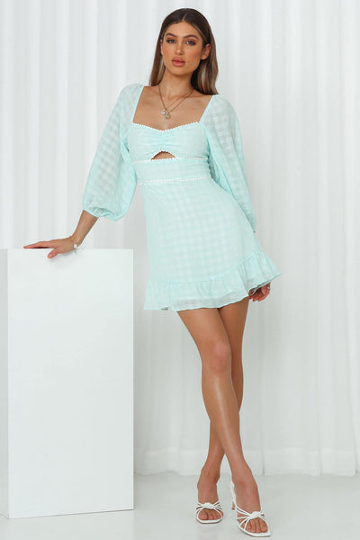 Summer Sky Dress Aqua | Hello Molly USA