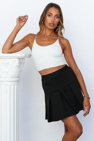 Tennis Bracelet Skirt Black | Hello Molly USA