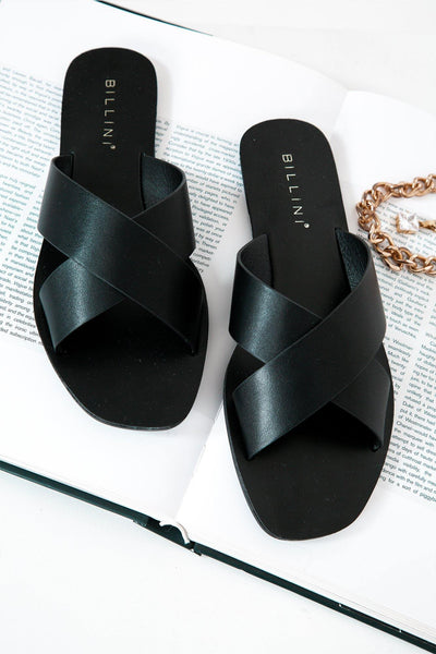 BILLINI Hale Slides Black