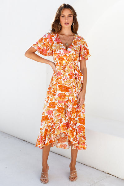 Darling You Are Perfect Dress Orange