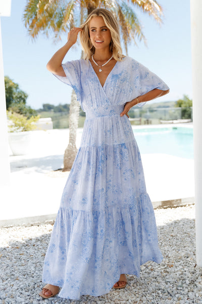 Savage Love Maxi Dress Blue