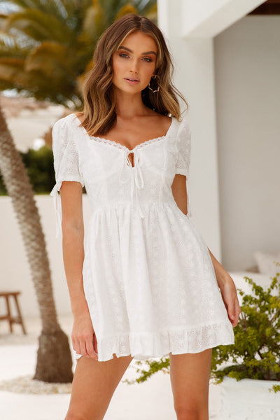 Love The Vibe Dress White
