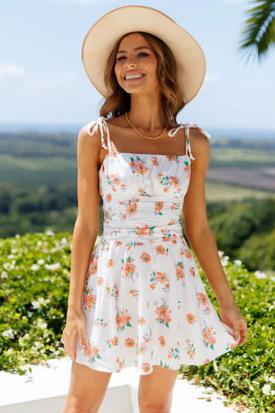 HELLO MOLLY Thirst For Life Dress White