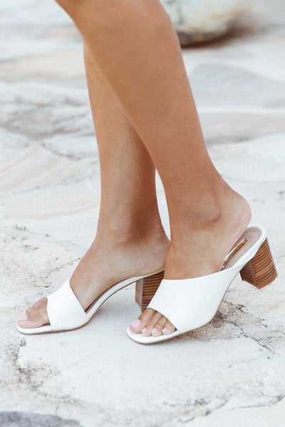 BILLINI Yohanna Mules Off-White
