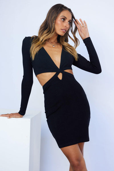 Major Obsession Dress Black | Hello Molly USA