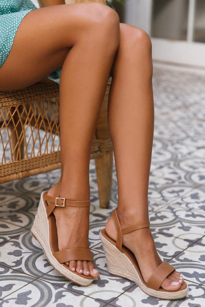 VERALI Amaya Wedges Tan