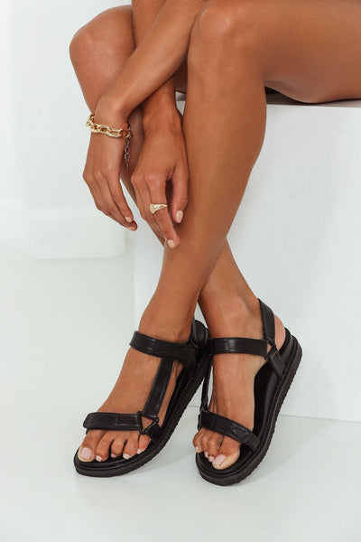 BILLINI Zak Sandals Black