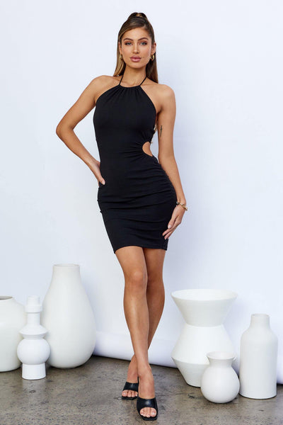 Need Attention Dress Black | Hello Molly USA