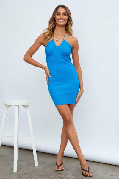 Cassie Dress Blue | Hello Molly USA