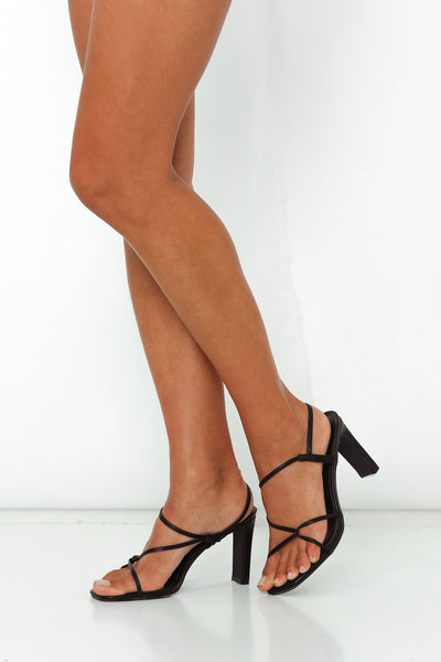VERALI Kingston Heels Black