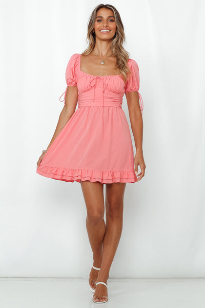 Lust At First Sight Dress Pink