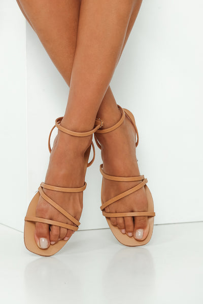 BILLINI Georgia Sandals Camel