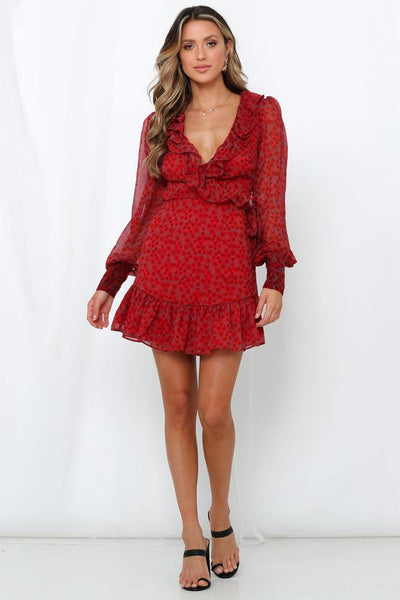 Million Dollar Trooper Dress Red | Hello Molly USA