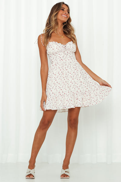 From Sea To Sea Dress White