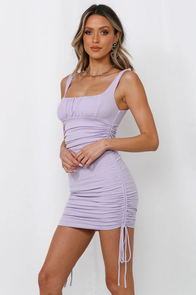 Not Seen In Movies Dress Lilac | Hello Molly USA