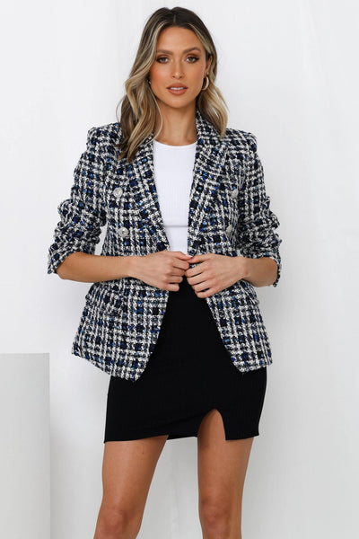 MOSSMAN The Timeless Blazer Navy