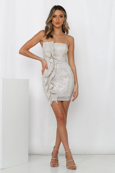 Room To Rebel Dress Silver