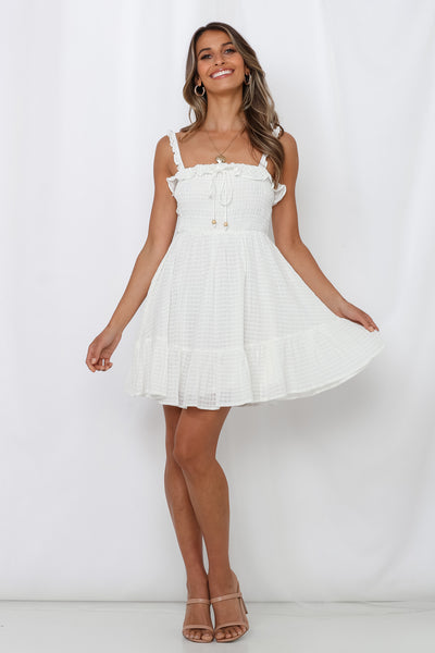 Speed Dating Dress White