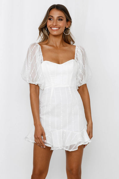 Old Classic Dress White