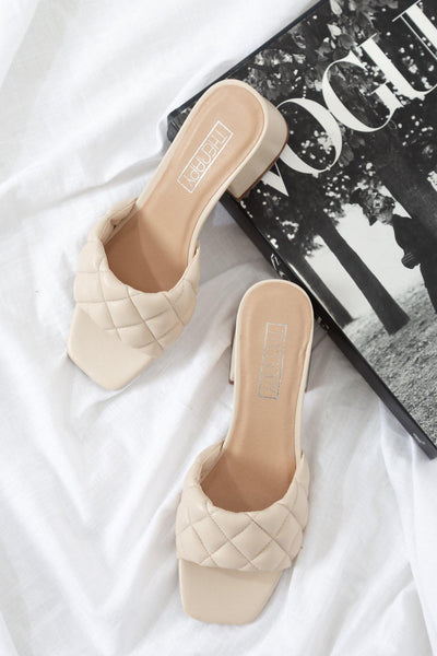 THERAPY Lucca Mules Nude