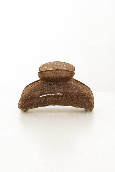 Rush To The Head Hair Claw Bronze