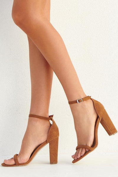 THERAPY Amelie Heels Tan