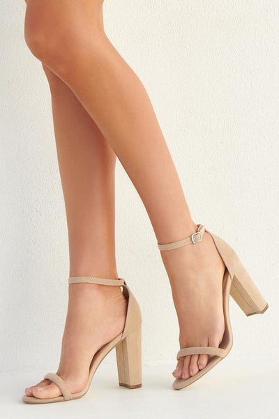 THERAPY Amelie Heels Cashew